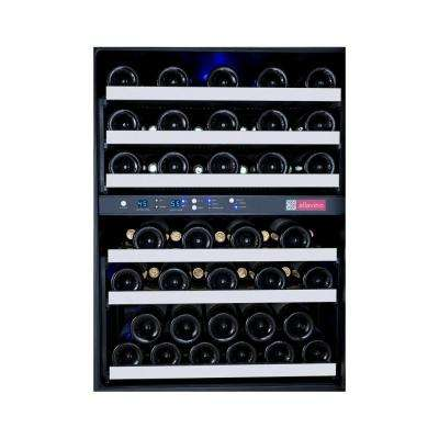FlexCount Series 56-Bottle Dual Zone Wine Cellar