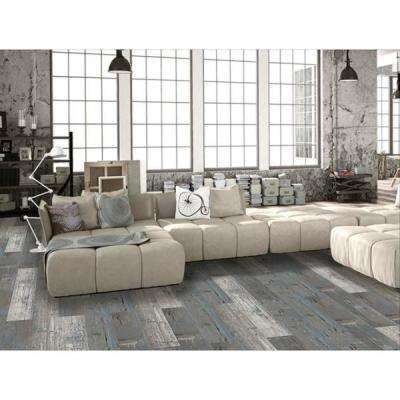 Colors Floor and Wall Rumba Wood Style 6 in. x 36 in. Multi-Tonal Glue Down Luxury Vinyl (2400 sq.ft./80 cases/pallet)