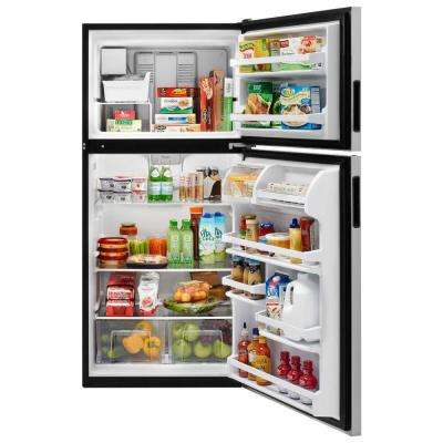 18 cu. ft. Top Freezer Refrigerator in Fingerprint Resistant Stainless Steel