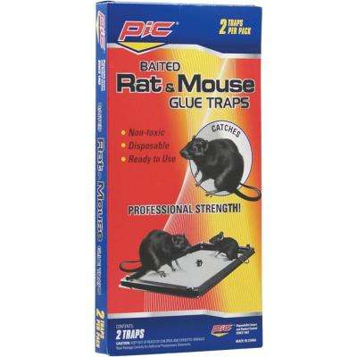 Rat and Mouse Glue Trays (2-Count, 3-Pack)