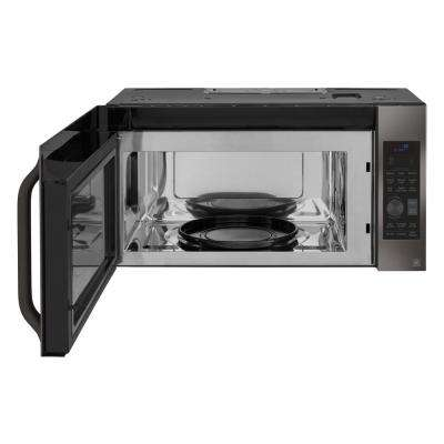 1.7 cu. ft. Over the Range Convection Microwave in Black Stainless Steel with Sensor Cooking