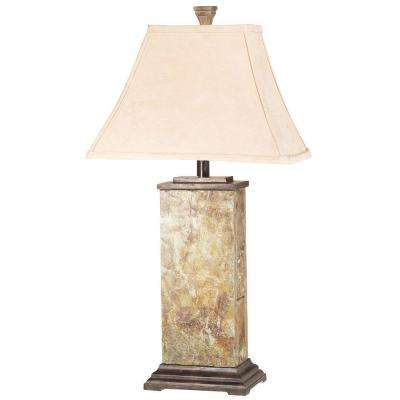 Bennington 29 in. Natural Slate Table Lamp