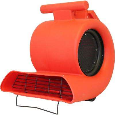 High Capacity Air Mover with 4 Operating Positions and 3 Fan Speeds