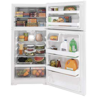 15.6 cu. ft. Top Freezer Refrigerator in White, ENERGY STAR