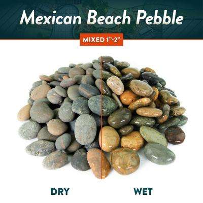 20 lbs. of Mixed 3 in. to 5 in. Mexican Beach Pebbles