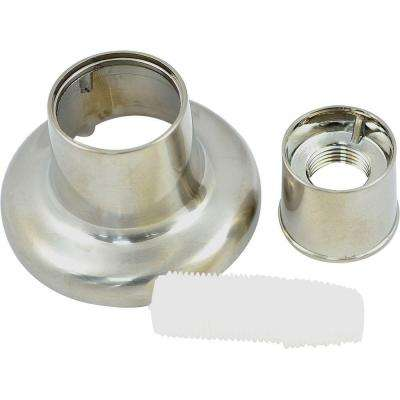 Universal Flange for Tub and Shower, Brush Nickel