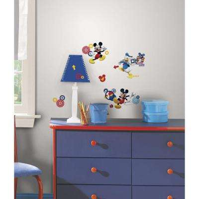 5 in. x 11.5 in. Mickey & Friends - Mickey Mouse Clubhouse Capers Peel and Stick Wall Decal