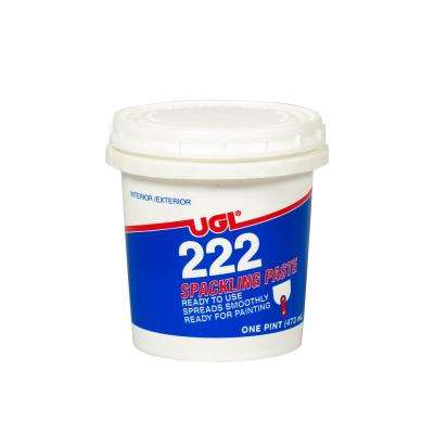 1 pt. 222 Spackling Paste (2-Pack)