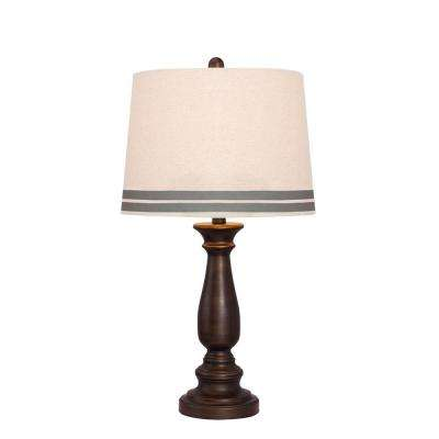 26 in. Oil Rubbed Bronze Table Lamp