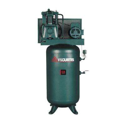 80 Gal. 5 HP 230-Volt 1-Phase Electric Air Compressor