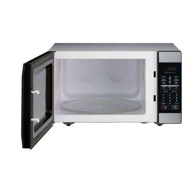 1.8 cu. ft. Countertop Microwave in Stainless Steel
