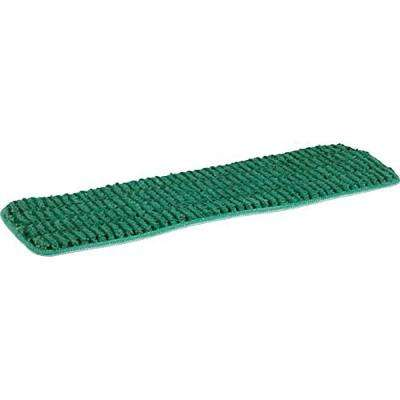 18 in. Green Microfiber Wet Mop Scrubbing Pad (3-Pack)