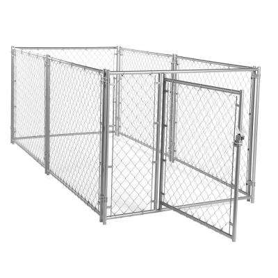 4 ft. H x 5 ft. W x 10 ft. L Modular Chain Link Kennel Kit