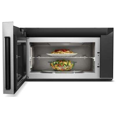 1.9 cu. ft. Smart Over the Range Convection Microwave in Fingerprint Resistant Stainless Steel