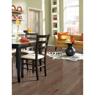 Scraped Maple Tranquil Fog 3/4 in. Thick x 5 in. Wide x Random Length Solid Hardwood Flooring (23 sq. ft. / case)