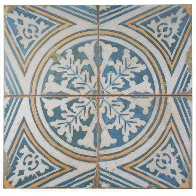 Kings Flatlands 17-3/4 in. x 17-3/4 in. Ceramic Floor and Wall Tile (11.3 sq. ft. / case)