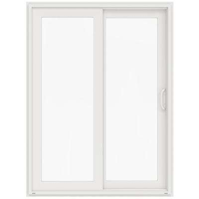 Awesome 60 In. X 80 In. V 4500 White Prehung Right Hand Sliding