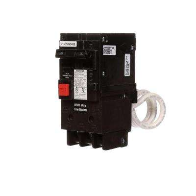 20 Amp Double-Pole Type QE Ground Fault Equipment Protection Circuit Breaker