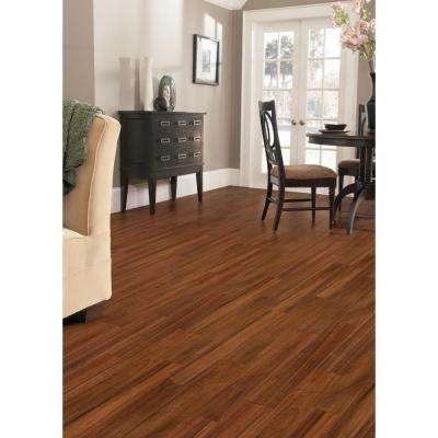 Hand Scraped Tobacco Canyon Acacia 3/8 in.T x 4-3/4 in. W x Varying L Click Lock Hardwood Flooring (24.94 sq.ft./case)