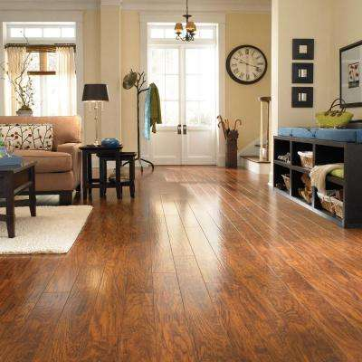 XP Highland Hickory 10 mm Thick x 4-7/8 in. Wide x 47-7/8 in. Length Laminate Flooring (13.1 sq. ft. / case)