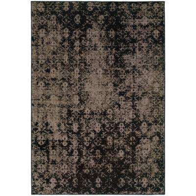 Twilight Gray 7 ft. 8 in. x 10 ft. 10 in. Area Rug