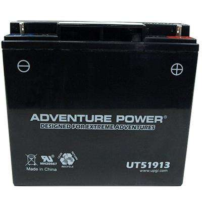 Sealed AGM 12-Volt 18 Ah Capacity J Terminal Battery