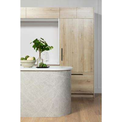 4 ft. x 8 ft. Laminate Sheet in 180fx White Knotty Maple with SatinTouch Finish