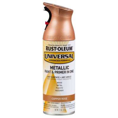 11 oz. All Surface Copper Rose Metallic Spray Paint and Primer in One (Case of 6)