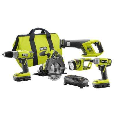 18-Volt Lithium-Ion Cordless Combo Kit (5-Tool)