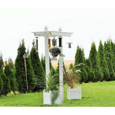 72 in. W x 96 in. H x 4 in. D Outside Dimensions Belmont Arbor