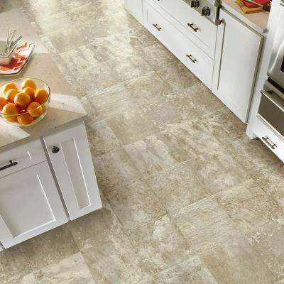 FlexStep Value Plus 12 ft. Width x Custom Length Cafe Creme Residential Vinyl Sheet Flooring