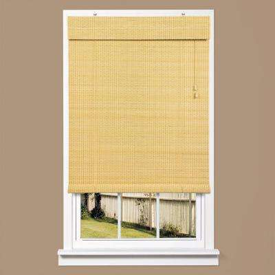 Bayville Natural Bamboo Rollup Shade