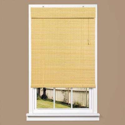 Bayville Natural Bamboo Rollup Shade