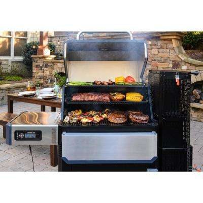 Gravity Series 1050 Digital Charcoal Grill Plus Smoker in Black