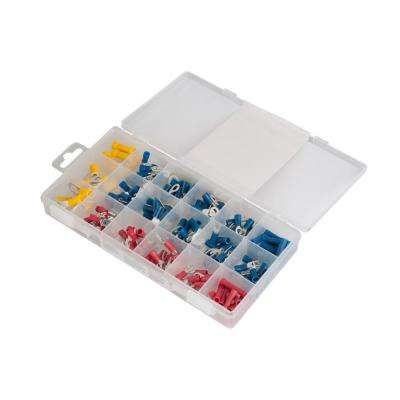 Slide Card Kit with 175 Assorted Solderless Terminals (Case of 5)