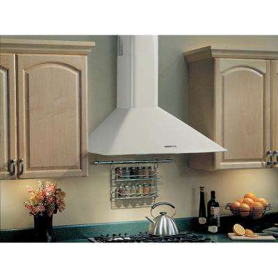 Elite RM50000 30 in. Convertible Wall Mount Range Hood with Light in White