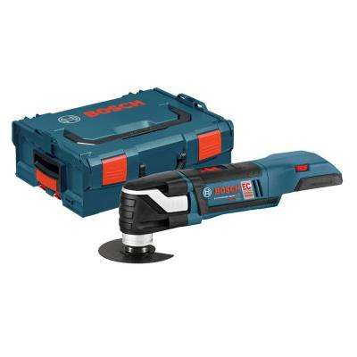 18 Volt Lithium-Ion Cordless Variable Speed Oscillating Multi-Tool with Hard Case (Tool-Only)