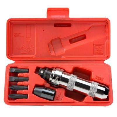 1/2 in. Drive Impact Screwdriver Set (7-Piece)