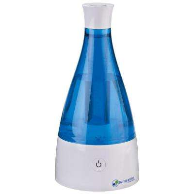 0.21 gal. 10-Hour Ultrasonic Cool Mist Table Top Humidifier