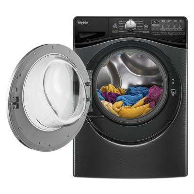 4.2 cu. ft. High-Efficiency Front Load Washer with Steam in Black Diamond, ENERGY STAR