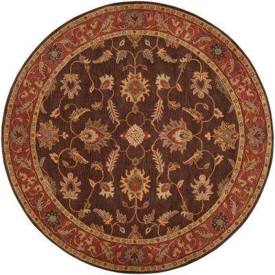 John Brown 9 ft. 9 in. Round Area Rug