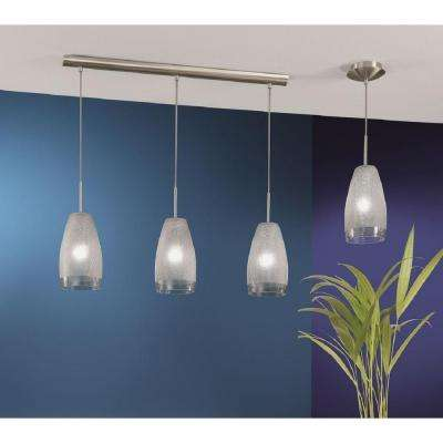 Crash 1-Light Matte Nickel Hanging/Ceiling Pendant