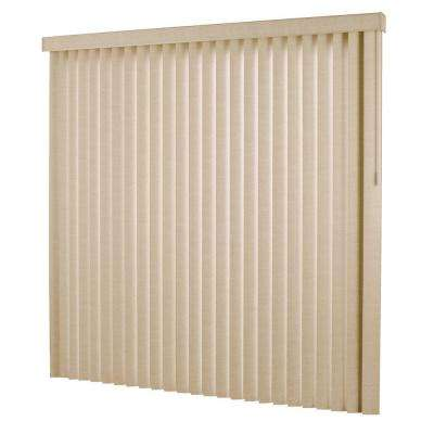 3.5 in. Textured PVC Vertical Blind