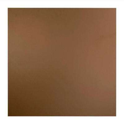 Flat Panel - 2 ft. x 2 ft. Lay-in Ceiling Tile in Argent Bronze