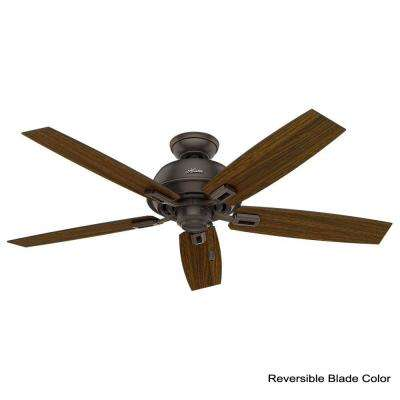 Donegan 52 in. Indoor/Outdoor Onyx Bengal Bronze Ceiling Fan