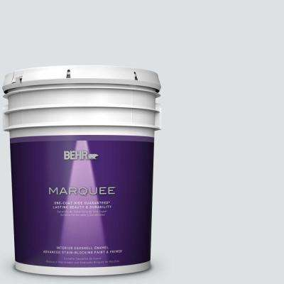 5 gal. #MQ3-27 Etched Glass One-Coat Hide Eggshell Interior Paint