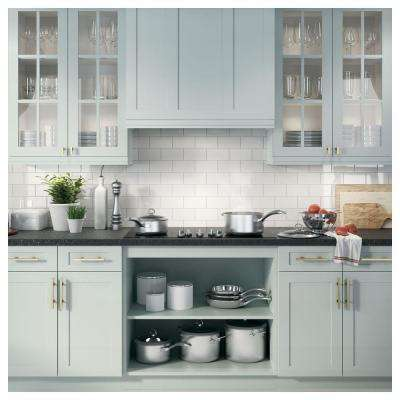 30 in. Insert Range Hood with Light in Silver