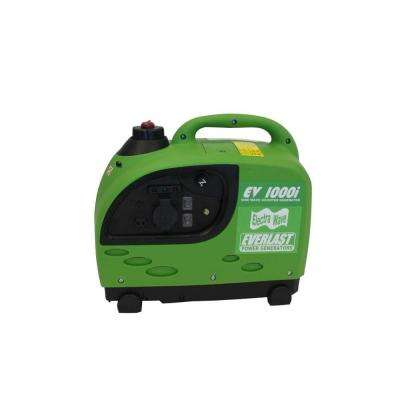 ElectraWave EV1000i 1,000-Watt Gas Powered Portable Inverter Generator
