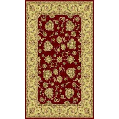 Legacy Red 2 ft. x 3 ft. 6 in. Indoor Area Rug