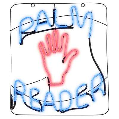 23.82 in. Light Glo-Palm Reader